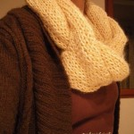 photo tricot modèle tricot snood idee