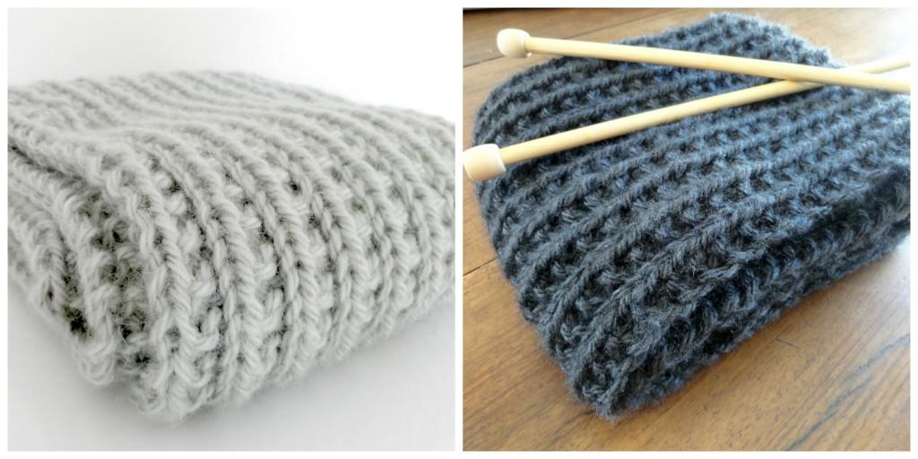 tricoter un snood nombre de maille
