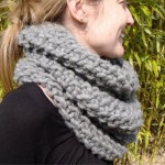 photo tricot modèle tricot snood idee 8