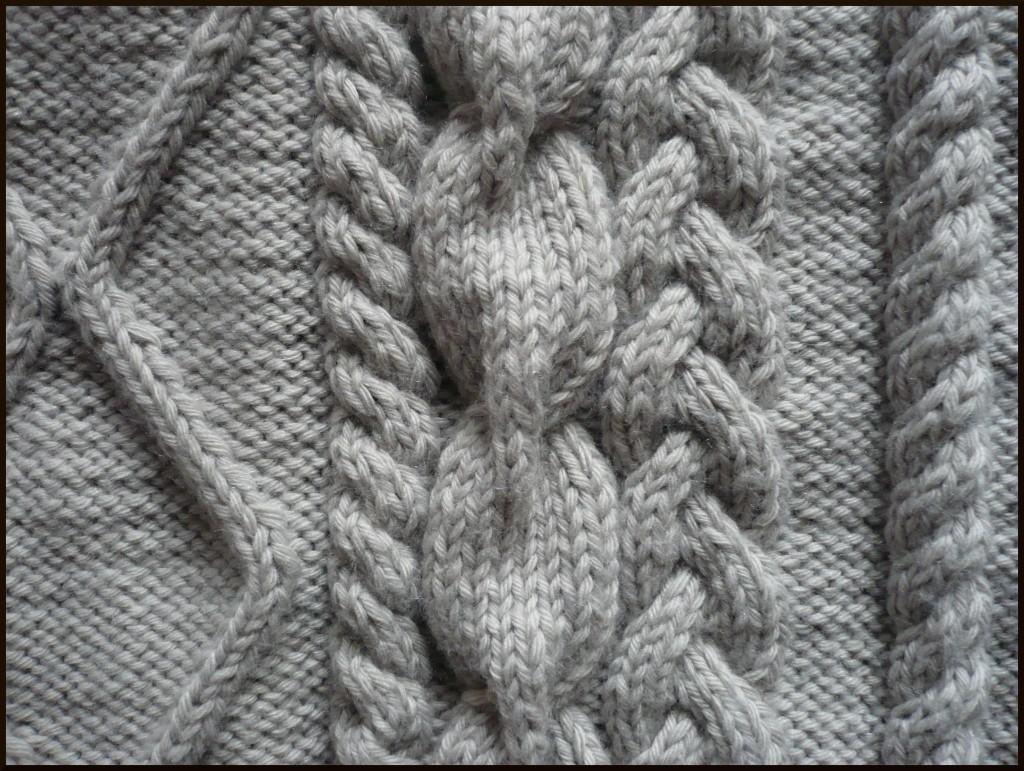 Modele tricot a torsade - Comment faire des torsades au tricot ...