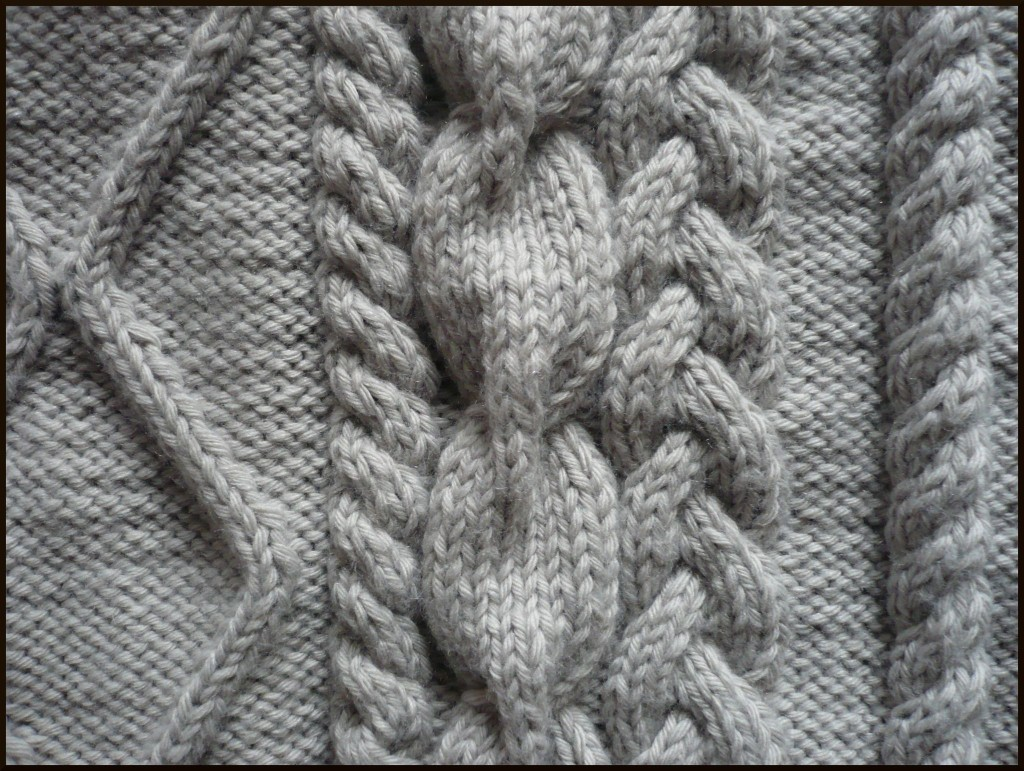 modele de torsade en tricot