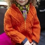 photo tricot modèle tricot torsade losange 18