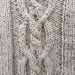 photo tricot modèle tricot torsade losange 6