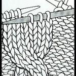 photo tricot modèle tricot torsade natté 11