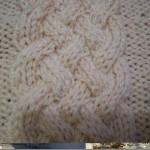 photo tricot modèle tricot torsade natté 18