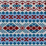 photo tricot modèle tricoter débutant jacquard 10