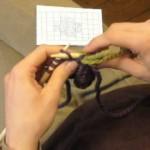 photo tricot modèle tricoter débutant jacquard 14