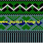 photo tricot modèle tricoter débutant jacquard 15