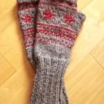 photo tricot modèle tricoter débutant jacquard 5
