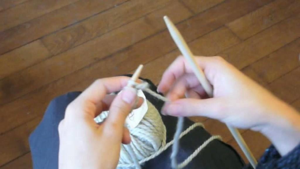 photo tricot modèle tricoter débutant jacquard 6
