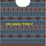 photo tricot modèle tricoter débutant jacquard 7