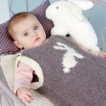 photo tricot modèle tricoter débutant jacquard 8