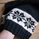 photo tricot modèle tricoter débutant jacquard 9