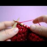 photo tricot modèle tricoter nid d abeille comment 18