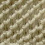 photo tricot modèle tricoter nid d abeille comment 3