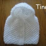 photo tricot modèle tricoter nid d abeille comment 4