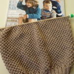 photo tricot modèle tricoter nid d abeille comment 5