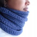 photo tricot modèle tricoter nid d abeille comment 6