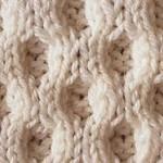 photo tricot modèle tricoter nid d abeille comment 8