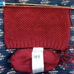 photo tricot modèle tricoter nid d abeille comment 9