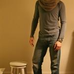photo tricot modèle tricoter tour de cou jenny 10