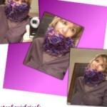 photo tricot modèle tricoter tour de cou jenny 2