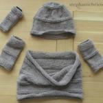 photo tricot modèle tricoter tour de cou jenny 5