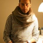 photo tricot modèle tricoter tour de cou jenny 7