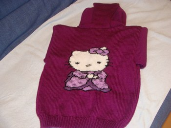 photo tricot model tricot hello kitty for sale 10