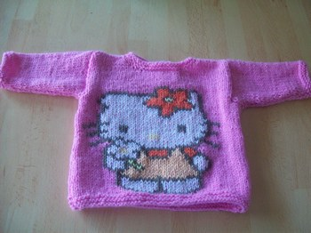 photo tricot model tricot hello kitty for sale 12