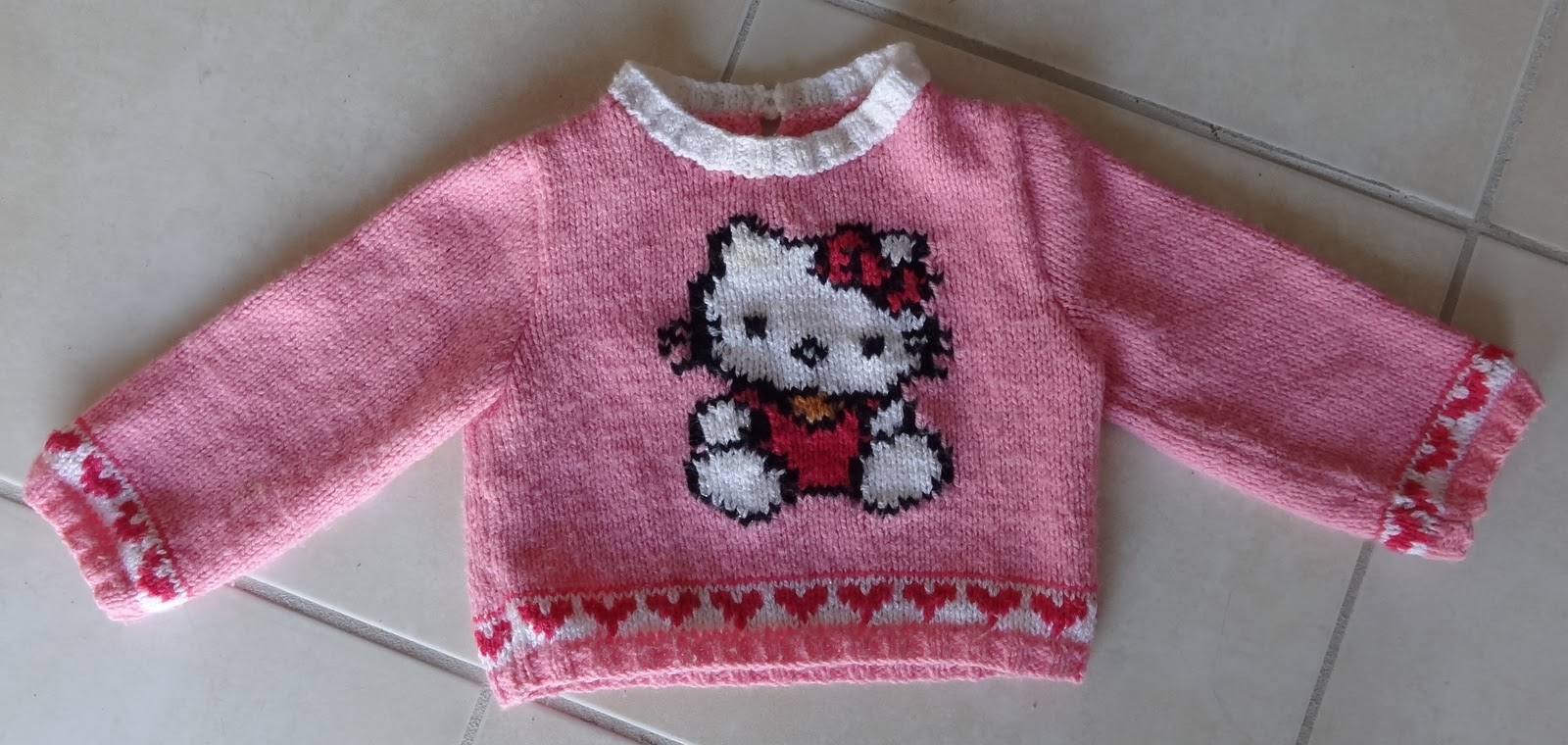 photo tricot model tricot hello kitty for sale 7