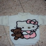 photo tricot model tricot hello kitty top 12