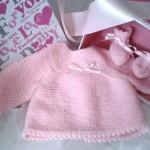 photo tricot modele brassiere bebe tricot facile 12