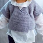 photo tricot modele brassiere bebe tricot facile 16