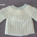 photo tricot modele brassiere bebe tricot facile 3