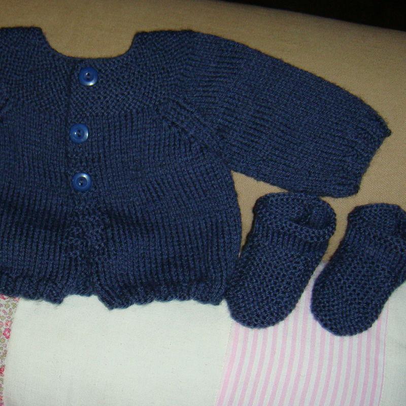 photo tricot modele de tricot pour bebe garcon 12. Black Bedroom Furniture Sets. Home Design Ideas