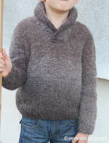 modele tricot bebe garcon