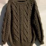 photo tricot modele gilet irlandais femme gratuit