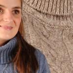 photo tricot modele gilet irlandais femme gratuit 16