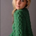 photo tricot modele gilet irlandais femme gratuit 18