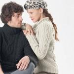 photo tricot modele gilet irlandais femme gratuit 5
