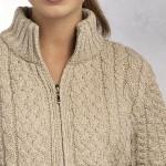 photo tricot modele gilet irlandais femme gratuit 6