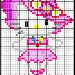 photo tricot modele grille tricot hello kitty 18