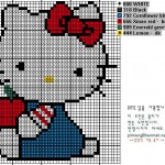 photo tricot modele grille tricot hello kitty 7
