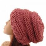 photo tricot modele pour tricoter un bonnet femme 13