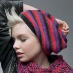 photo tricot modele pour tricoter un bonnet femme 17