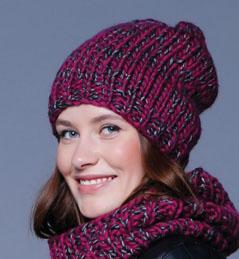 photo tricot modele pour tricoter un bonnet femme 7
