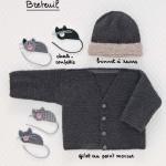 photo tricot modele tricot bebe gratuit la droguerie 15