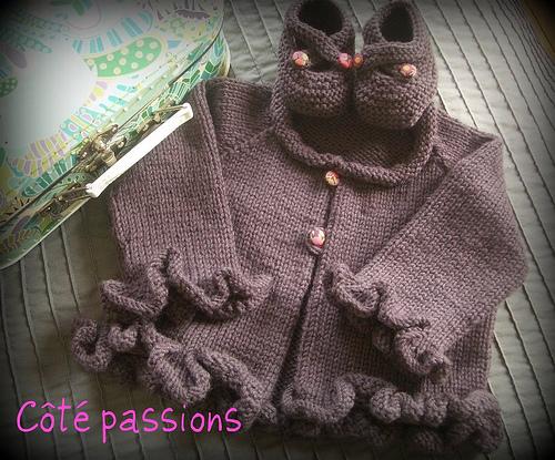 photo tricot modele tricot bebe gratuit la droguerie 3