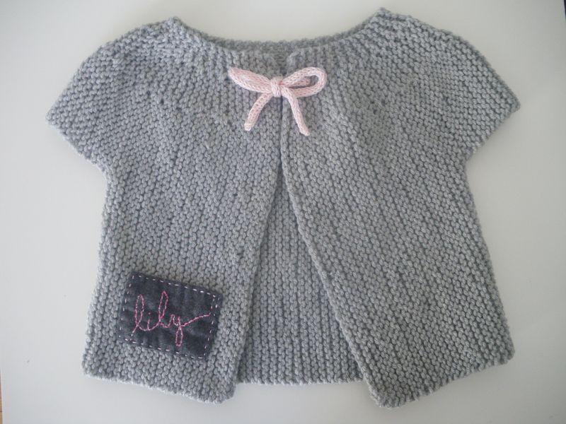 photo tricot modele tricot bebe gratuit la droguerie 7